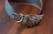 Silver dragon collar