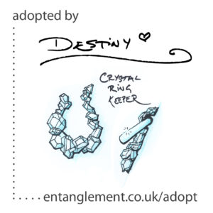 Adopted - Crystal Ring Keeper